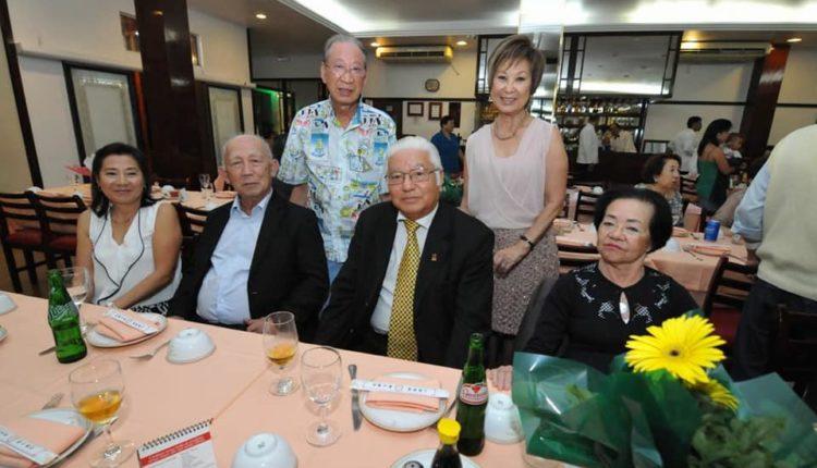 Harada e Felícia com Osamu Matsuo e convidados (Jiro Mochizuki)