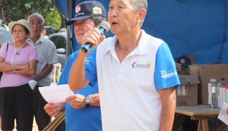 Hiromu Shimizu, coordenador do Undokai (Aldo Shiguti)