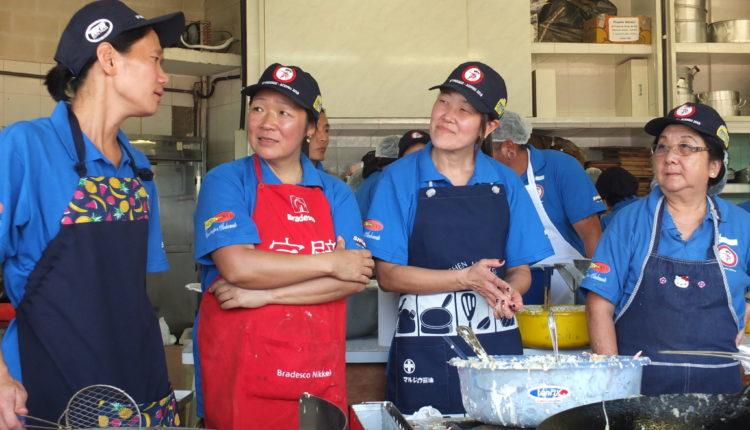 Flagrante do pessoal da cozinha (Aldo Shiguti)