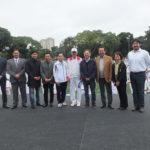 Autoridades e convidados presentes no Clube Regatas Tietê (Aldo Shiguti)