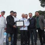 George Hato entregou as homenagens do pai, Jooji Hato (Aldo Shiguti)