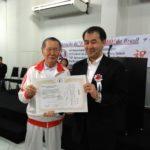 Homenagem ao cônsul Yasushi Noguchi (Aldo Shiguti)