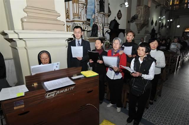 Missa católica na Igreja São Gonçalo será nesta segunda-feira (Arquivo/Jiro Mochizuki)
