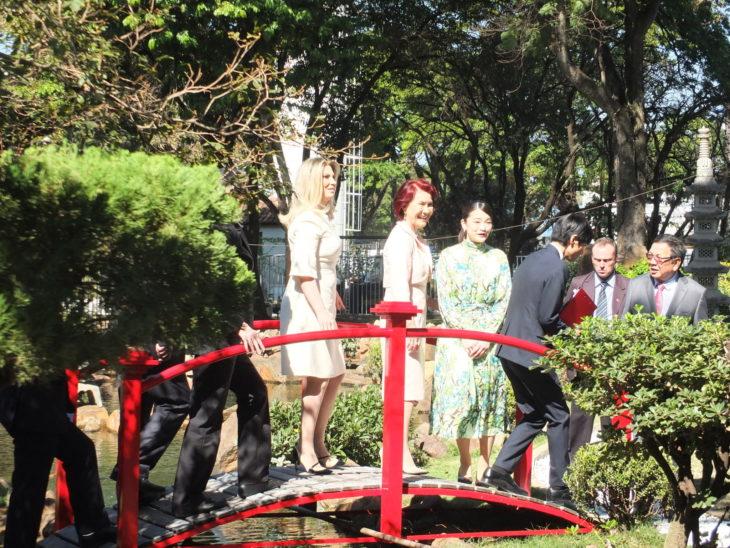 A princesa Mako no jardim da Acema (Aldo Shiguti)