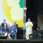 Princesa Mako discursa durante cerimônia em Maringá (Aldo Shiguti)