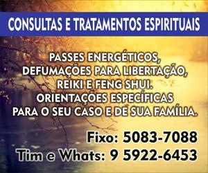 Consultas e tratamentos espirituais