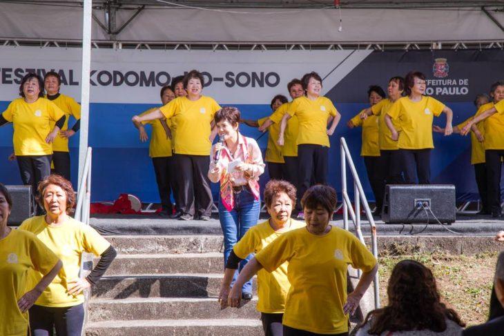 A cantora Mariko Nakahira mais uma vez marcará presença (Guilherme Missumi)