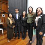 Com a delegada Raquel Galinatti (Jiro Mochizuki)