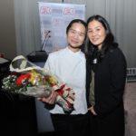 A chef Telma Shiraishi com Daniela (Jiro Mochizuki)