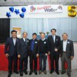 Terio Uehara, Renato Ishikawa, Hélio Nishimoto, Walter Ihoshi, cônsul Noguchi e Eiki Shimabukuro (Jiro Mochizuki)