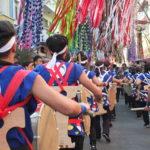 Parada Taiko chamou a atenção dos visitantes (Aldo Shiguti)
