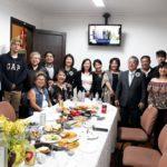 A delegação que veio de Campinas com a diretoria da Naguisa (Divulgação/Jorge Mori)