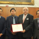 Homenagem à Sociedade Brasileira e Japonesa de Beneficência Santa Cruz (Aldo Shiguti)