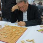 Takashima durante a partida final