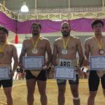 Premiação Categoria Peso Leve Masculino (Aldo Shiguti)