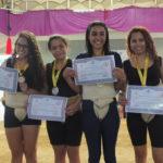 Premiação Juniores Feminino - Peso Leve (Aldo Shiguti)