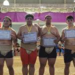 Premiação Juniores Masculino - Peso Médio (Aldo Shiguti)