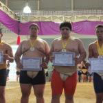 Premiação Juniores Peso Absoluto (Aldo Shiguti)