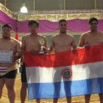 Premiação Por Equipes - Paraguai vice campeão (Aldo Shiguti)