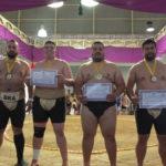 Premiação Categoria Peso Pesado Masculino (Aldo Shiguti)