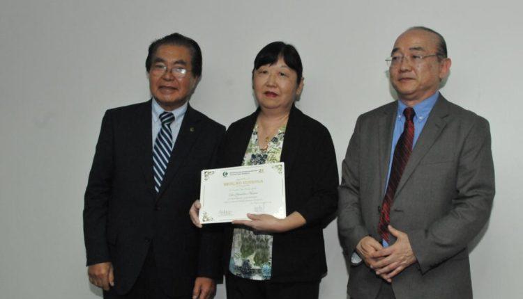 Representante dos Funcionários com 30 ou mais anos de trabalho continuo no HNB (Jiro Mochizuki)