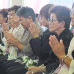 Ritual budista em intenção às almas dos pioneiros falecidos (Fotos: Jiro Mochizuki e Aldo Shiguti)
