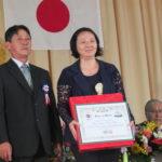 Homenagem a Karina Saito, do Atletismo (Fotos: Jiro Mochizuki e Aldo Shiguti)
