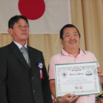 Homenagem a Luis Alberto Katata, do Atletismo (Fotos: Jiro Mochizuki e Aldo Shiguti)