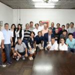 Diretoria e convidados (Thais Pastor/F2 Comunicação)