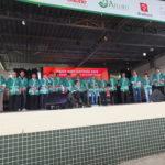 Cerimônia de abertura com convidados e diretoria (Aldo Shiguti)