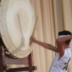 Apresentação de taiko (Fotos: Jiro Mochizuki e Aldo Shiguti)