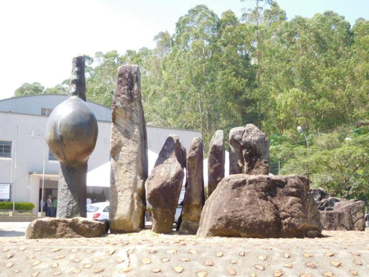 """Jardim """"Mãe Grávida"""", assinada pelo artista Manabu Mabe (divulgação)"""