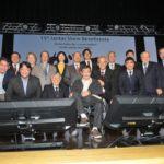 Presidentes das entidades com autoridades e convidados (Jiro Mochizuki)