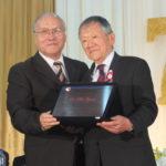 Homenagem a Akio Ogawa do Departamento de Comunicação por Tapiraí (Aldo Shiguti)