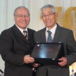 Homenagem a Mitsuru Minami do Departamento de Gatebol de Pilar do Sul (Aldo Shiguti)