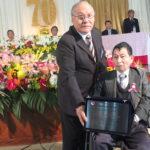 Homenagem a Nobuaki Uemura do Departamento Educacional de Piedade (Aldo Shiguti)