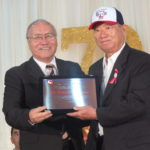 Homenagem a Toshiaki Hishinuma da União Cultural e Esportiva Nipo-Brasileira de Sorocaba (Aldo Shiguti)