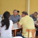 Japoneses participaram de reunião com empresários (Fotos: Wagner Assanuma e Prefeitura de Registro)