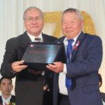 Masaaki Tsutsumi, homenageado do Sumô de Capão Bonito (Aldo Shiguti)