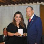 Patricia Murakami, da JCI Brasil-Japão, membro da Comissão Julgadora (Jiro Mochizuki)