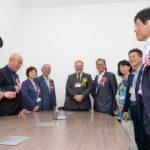 Prefeito deu as boas-vindas no gabinete (Fotos: Wagner Assanuma e Prefeitura de Registro)