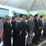 Representantes de religiões durante ato (Aldo Shiguti)
