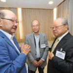 Carlos Fukuhara conversa com Hatiro Shimomoto (Jiro Mochizuki)