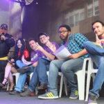 Takeda com os jurados do Concurso Cosplay (Aldo Shiguti)