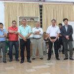 Pedro Komura e diretores do Bunkyo de Mogi das Cruzes (Aldo Shiguti)