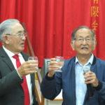 O médico e amigo Nobolo Mori comandou o brinde (Aldo Shiguti)