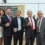 Miyuki, Hissao, André Korosue, Fumio Horii e Roberto Nishio (Aldo Shiguti)