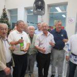 A velha guarda Koga, Miyake, Kumagai, Suzuke, Carlos e Clineu (Jorge Mori)