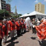 Autoridades e convidados participam de ritual xintoísta - Jiro Mochizuki