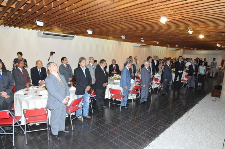 Cerimônia contou com a presença das entidades co-promotoras - Jiro Mochizuki